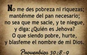 proverbios 30 8