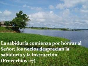 proverbios 1 7