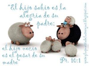 proverbios 10 1