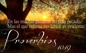 proverbios 10 19