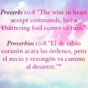 proverbios 10 8