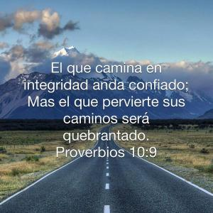 proverbios 10 9