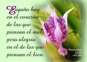 proverbios 12 20
