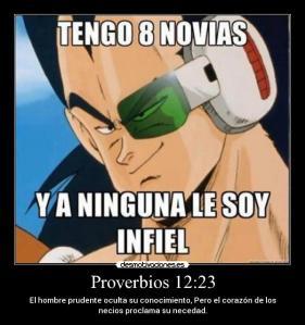 proverbios 12 23
