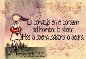 proverbios 12 25