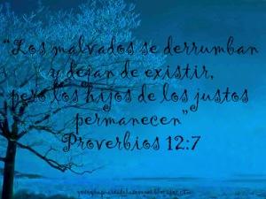 proverbios 12 7