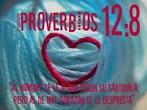 proverbios 12 8