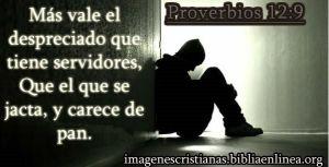 proverbios 12 9