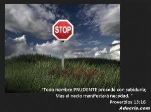proverbios 13 16