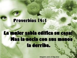proverbios 14 1