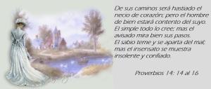 proverbios 14 14