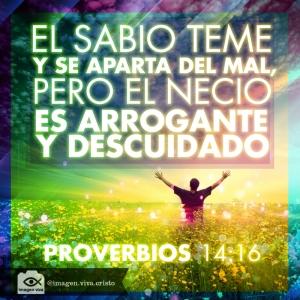 proverbios 14 16