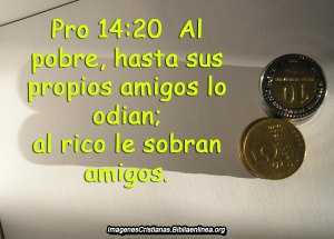 proverbios 14 20