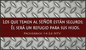 proverbios 14 26