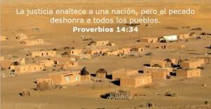 proverbios 14 34