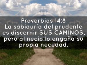 proverbios 14 8