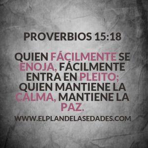 proverbios 15 18