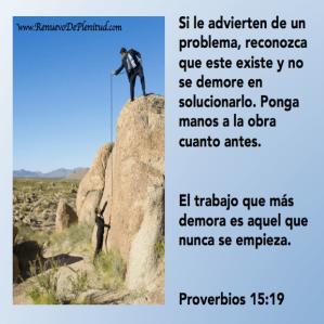 proverbios 15 19
