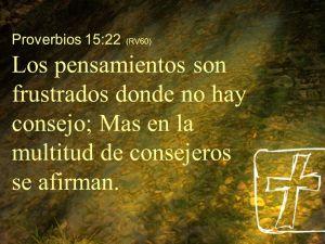 proverbios 15 22