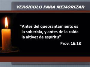 proverbios 16 18