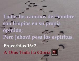 proverbios 16 2