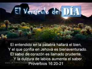 proverbios 16 20