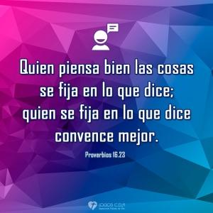 proverbios 16 23a