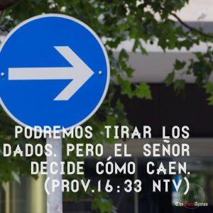 proverbios 16 33