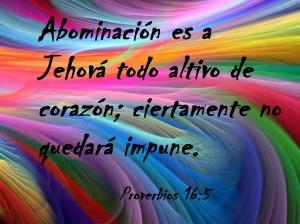 proverbios 16 5