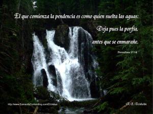 proverbios 17 14