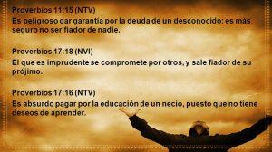 proverbios 17 16