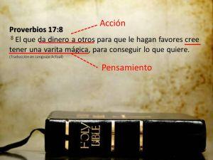proverbios 17 8