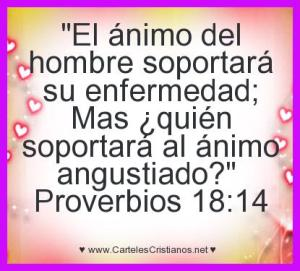 proverbios 18 14