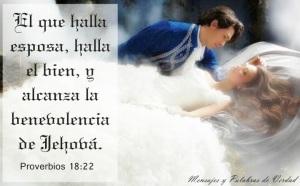 proverbios 18 22