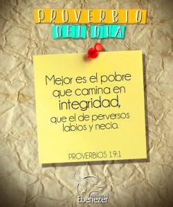 proverbios 19 1