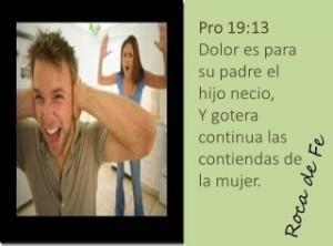 proverbios 19 13