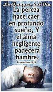 proverbios 19 15