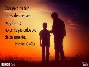 proverbios 19 18
