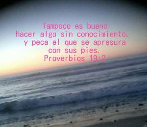 proverbios 19 2