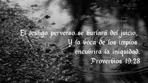 proverbios 19 28