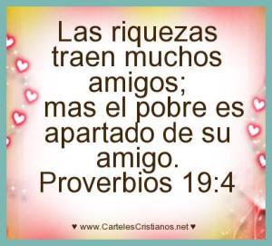 proverbios 19 4