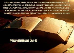 proverbios 2 1