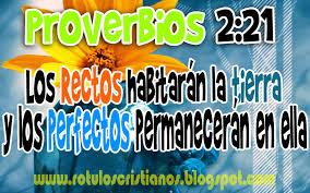 proverbios 2 21