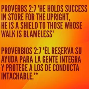 proverbios 2 7