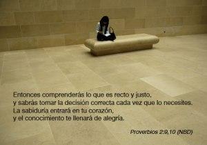 proverbios 2 9