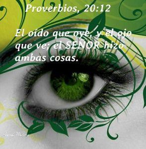 proverbios 20 12