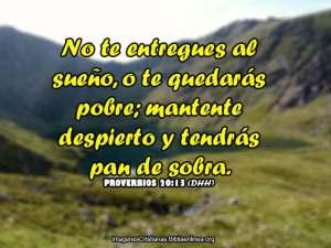 proverbios 20 13