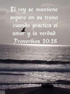 proverbios 20 28