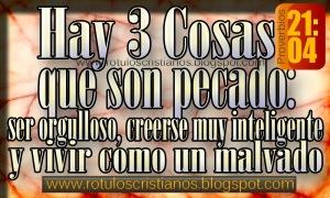 proverbios 21 4