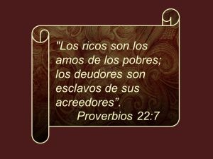 proverbios 22 7